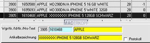 iPhone 5S: Media Markt