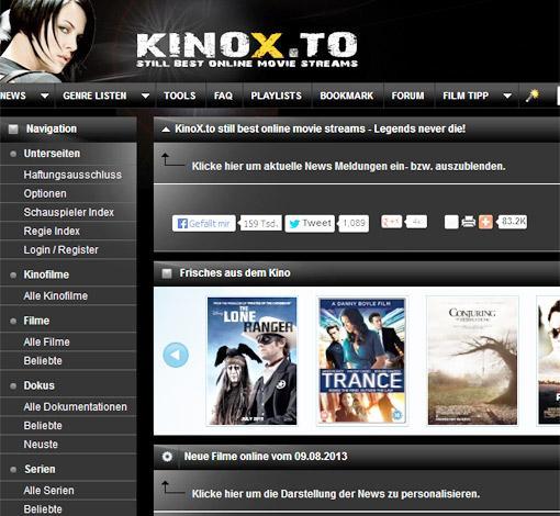 Ist Kinox.To Offline