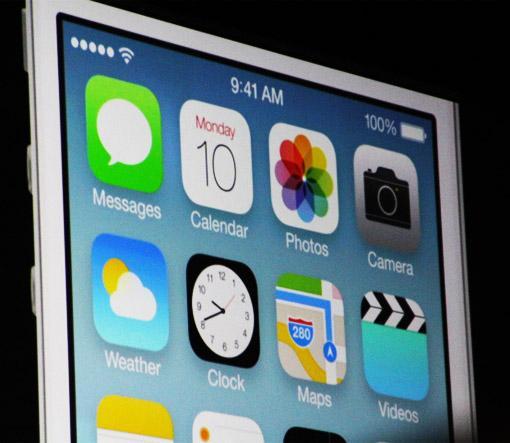 Apple iOS 7 auf dem iPhone 5