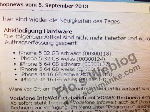 iPhone 5: Vodafone
