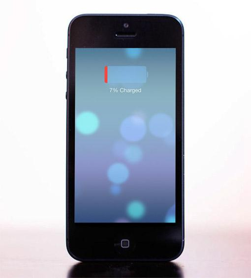 iPhone 5: iOS 7 Akkulaufzeit verbessern