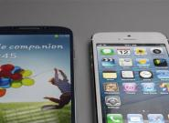 iPhone 5S vs. Samsung Galaxy