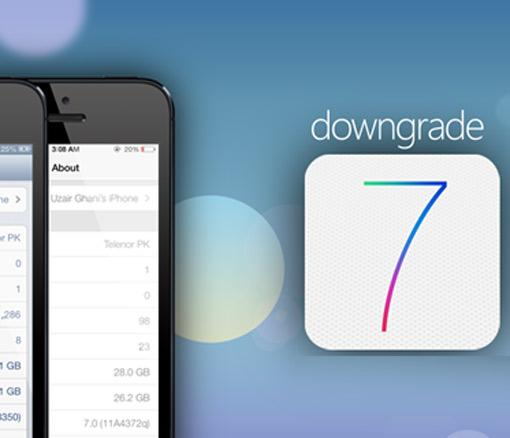 iPhone 5 Downgrade: Apple iOS 7 entfernen