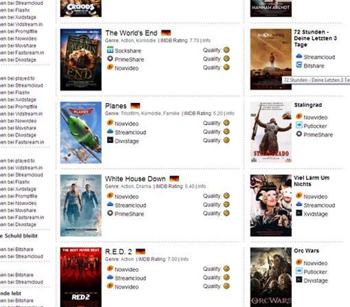 Nutzer von Kinos.to und Movie4k.to