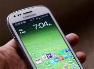 Samsung Galaxy S3 Mini auf