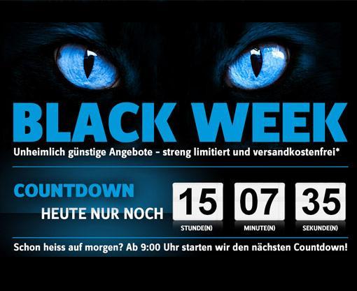 Conrad startet Black Week