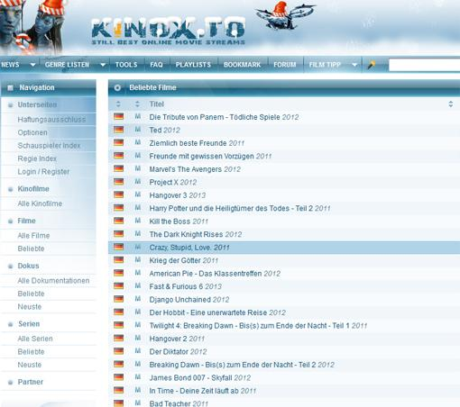 Kinoz.to und Movie4k.to droht Abschaltung