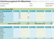 Arbeitsstunden berechnen mit Excel –