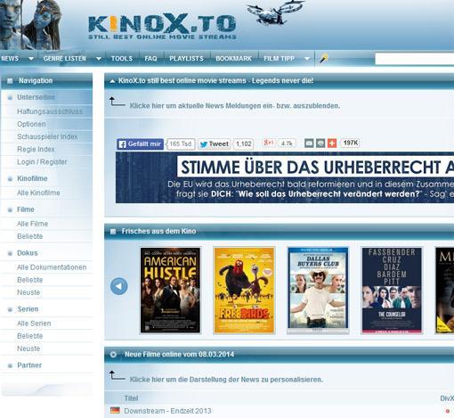 Abmahnung Kinox