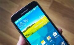 Samsung Galaxy S5: Update auf