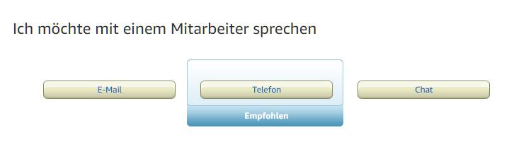 Amazon telefonnummer öffnungszeiten