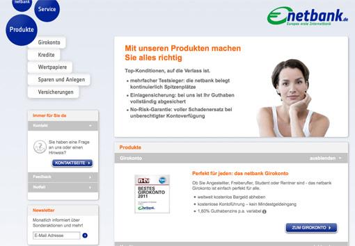 netbank webseite