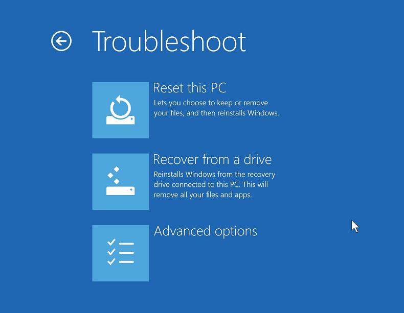 Windows 10 zurücksetzen ohne CD