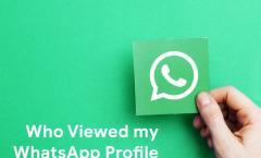 Wer hat dein WhatsApp-Profil angesehen